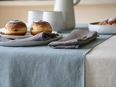 Linen Tablecloth - Christmas Table Decoration