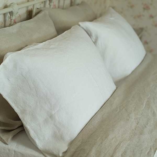 stonewashed bed linen