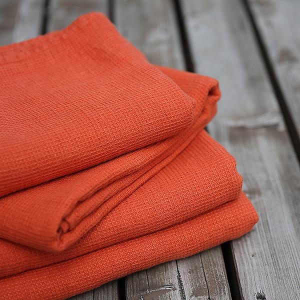 soft towels - Linen Waffle Towels