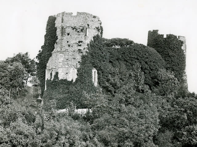 west tower with washing