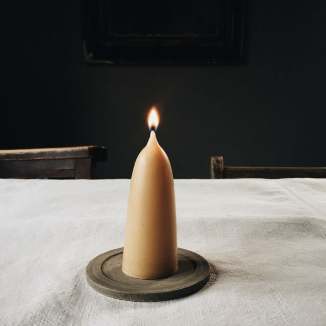 table-linens-candle