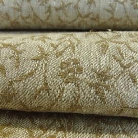 Linum Natural Linen Damask Fabric