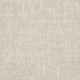 Beige Linen Fabric Sample Twill