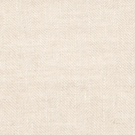 Natural Linen Fabric Sample Emilia