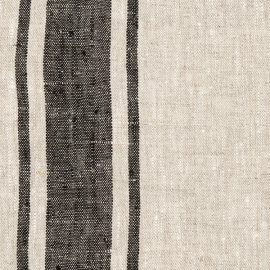 Black Linen Fabric Provance