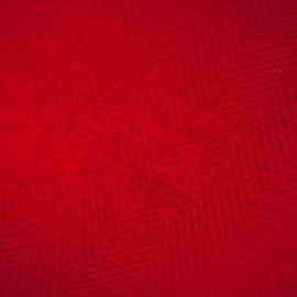 Fabric Fire Angine Red Linen Emilia