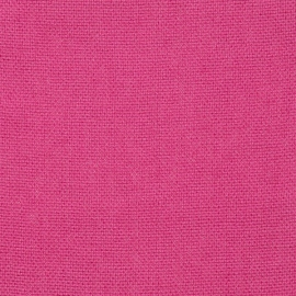 Bright Pink Linen Fabric Sample Rustico