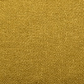 Citrine Linen Fabric Lara Prewashed