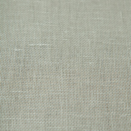 Linen Fabric Sample Off White Twist Open
