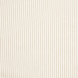 Linen Fabric Washed Jazz Beige White