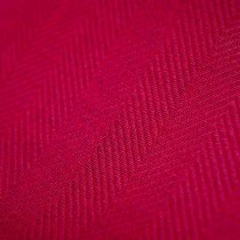Linen Fabric Sample Herringbone Emilia Pink