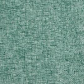 Green Linen Fabric Sample Twist Open