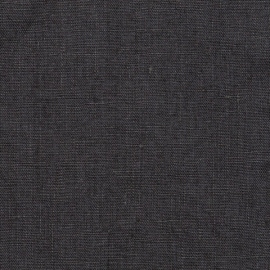 Linen Fabric Sample Charcoal Terra