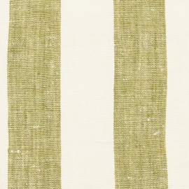 Linen Fabric Washed Olive Green Philippe