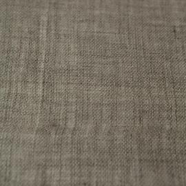 Linen Sheer Fabric  Natural Twist Open