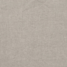 Linen Fabric Sample Taupe Stone Washed