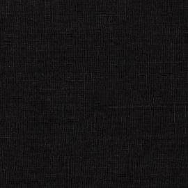 Linen Fabric Black Terra