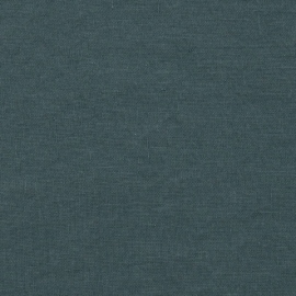 Linen Fabric Balsam Green Stone Washed
