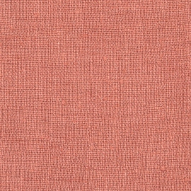 Canyon Rose Linen Fabric Sample Rustic