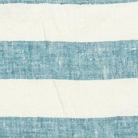 Linen Fabric Marine Blue Philippe