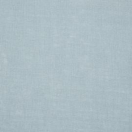 Lake Blue Linen Fabric Lucia Sample