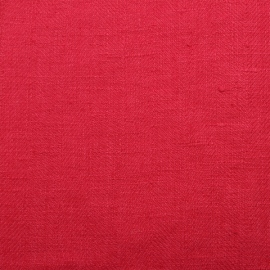 Linen Fabric Sample Lara Bright Pink