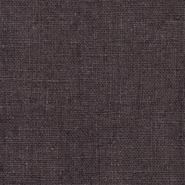 Grey Linen Fabric  Rustic