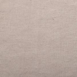 New Platinum Linen Fabric Lara Prewashed