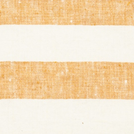 Linen Fabric Washed Philippe Gold