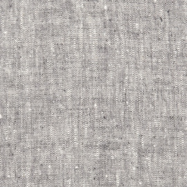 Linen Fabric Graphite Francesca