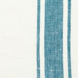Fabric Marine Blue Linen Tuscany Prewashed