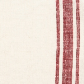 Fabric Cherry Linen Tuscany Prewashed