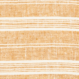 Fabric Gold Linen Multistripe