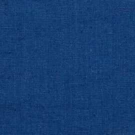 Linen Fabric Sample Terra Blue