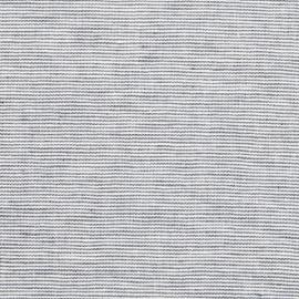 Linen Fabric Pinstripe Indigo
