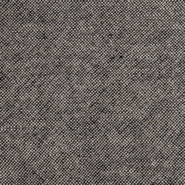 Natural/Black Linen Fabric Rustico