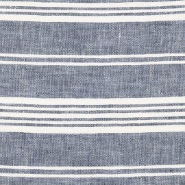 Indigo Linen Fabric Jazz