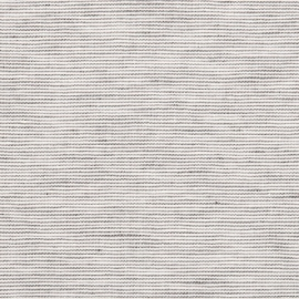 Linen Fabric Washed Pinstripe Graphite