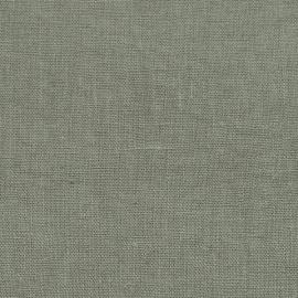 Linen Fabric Charcoal Terra Prewashed