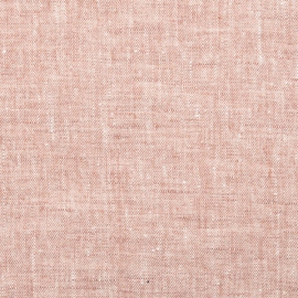 Linen Fabric Washed Rosa Francesca