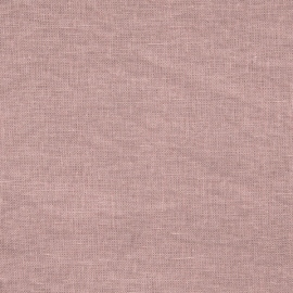 Linen Fabric Crushed Dusty Rose