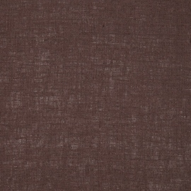 Linen Fabric Sample Plain Brown