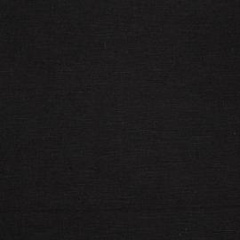 Linen Fabric Paula Black
