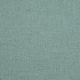 Linen Fabric Sample Paula Blue Petrol