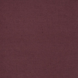 Linen Fabric Sample Paula Aubergine