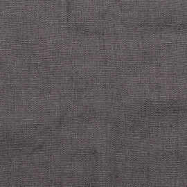 Linen Fabric Terra Steel Grey