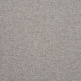 Graphite Linen Fabric Sample Stone Washed