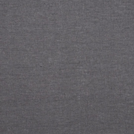Grey Linen Fabric Stone Washed