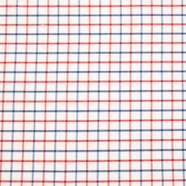 Linen Fabric Check Multicolor