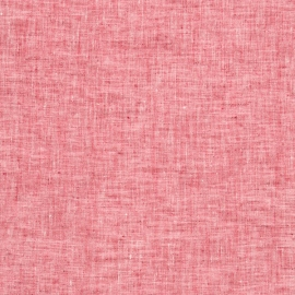 Linen Fabric Francesca Red